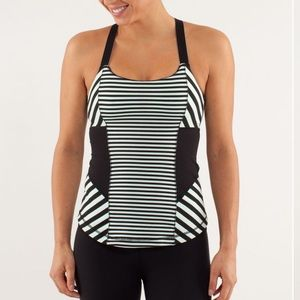 Lululemon | Work It Out Strappy Tank Top Sz 6